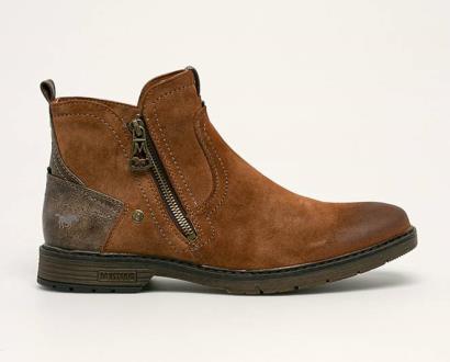 Hnědé boty Mustang