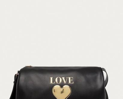Černý kufr Love Moschino