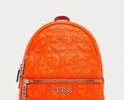 Oranžový batoh Guess Jeans