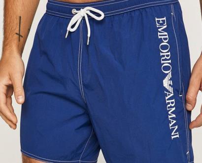 Modré plavky Emporio Armani