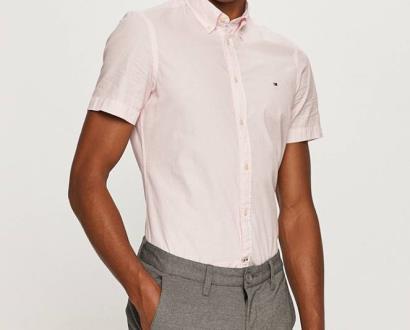 Růžová košile tommy hilfiger