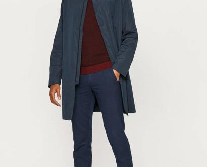 Modrá bunda Calvin Klein
