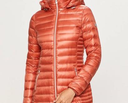 Růžová bunda Calvin Klein