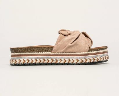 Béžové boty ANSWEAR