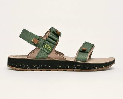 Zelené boty Jack Wolfskin