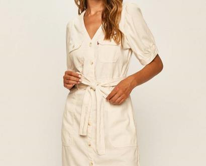 Bílé šaty Levi's