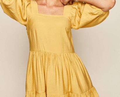 Žluté šaty MEDICINE