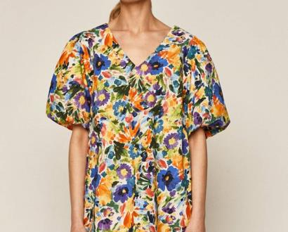 Vícebarevné šaty MEDICINE