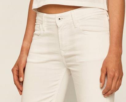 Bílé kraťasy pepe jeans