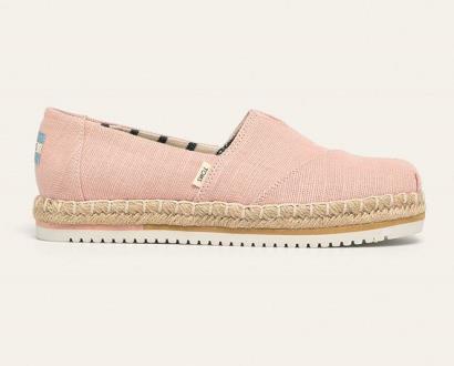 Růžové boty toms